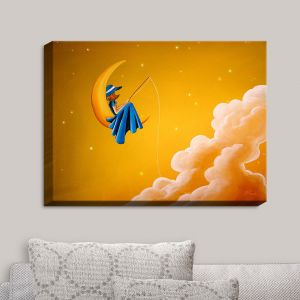 Decorative Canvas Wall Art | Cindy Thornton - Blue Moon