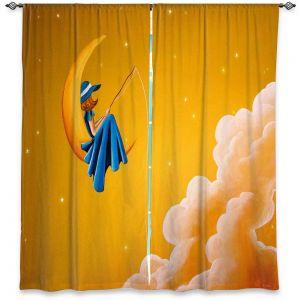 Decorative Window Treatments | Cindy Thornton - Blue Moon
