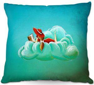 Decorative Outdoor Patio Pillow Cushion   Cindy Thornton - Cloud Nine