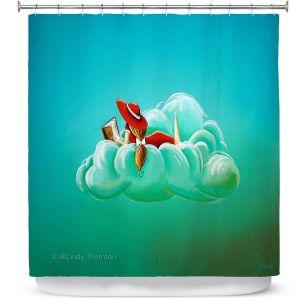 Premium Shower Curtains | Cindy Thornton - Cloud Nine