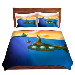 Artistic Duvet Covers and Shams Bedding | Cindy Thornton - Finding Nemo