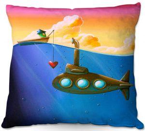Throw Pillows Decorative Artistic   Cindy Thornton - Finding Nemo