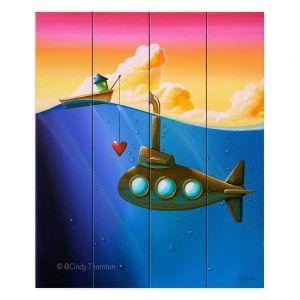 Decorative Wood Plank Wall Art | Cindy Thornton - Finding Nemo