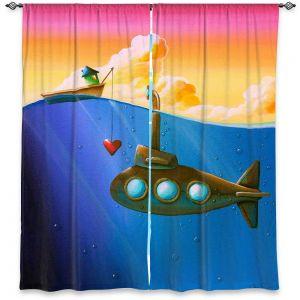 Decorative Window Treatments | Cindy Thornton - Finding Nemo
