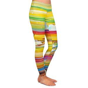 Casual Comfortable Leggings | Cindy Thornton - Neverland Rainbow