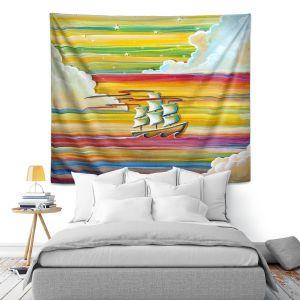 Artistic Wall Tapestry | Cindy Thornton - Neverland Rainbow