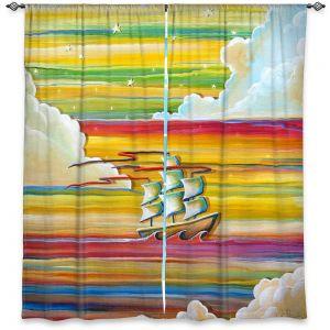 Decorative Window Treatments | Cindy Thornton - Neverland Rainbow