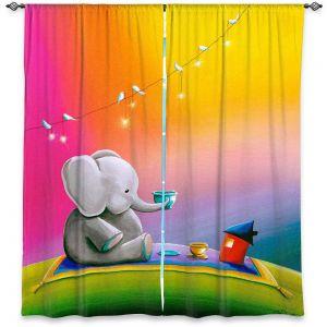 Decorative Window Treatments | Cindy Thornton - Rainbow Elephant