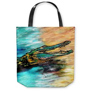 Unique Shoulder Bag Tote Bags | Corina Bakke - Alligator