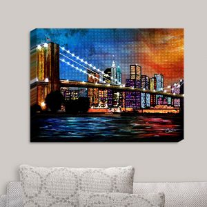 Decorative Canvas Wall Art | Corina Bakke - Brooklyn Bridge