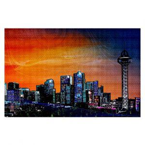 Decorative Floor Coverings | Corina Bakke Denver Skyline Sports