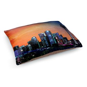 Decorative Dog Pet Beds | Corina Bakke's Denver Skyline Sports