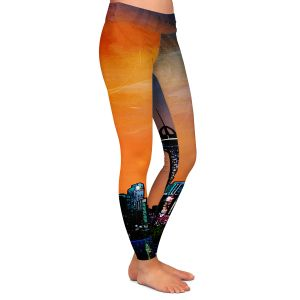 Casual Comfortable Leggings | Corina Bakke's Denver Skyline Sports
