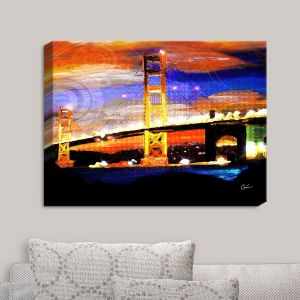Decorative Canvas Wall Art | Corina Bakke - Golden Gates SF