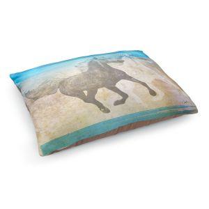 Decorative Dog Pet Beds | Corina Bakke - Horse | animal surreal pop art
