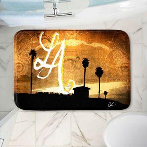 Decorative Bathroom Mats   Corina Bakke - Los Angeles Beach