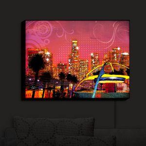 Nightlight Sconce Canvas Light | Corina Bakke's LA Skyline