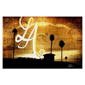 Decorative Floor Coverings | Corina Bakke LA Beach