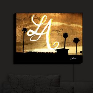 Nightlight Sconce Canvas Light | Corina Bakke's LA Beach