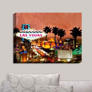 Decorative Canvas Wall Art | Corina Bakke - Las Vegas Skyline