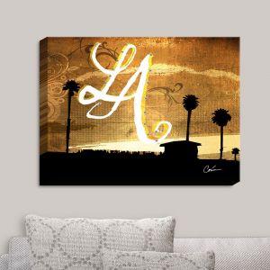 Decorative Canvas Wall Art | Corina Bakke - Los Angeles Beach