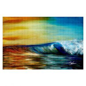 Decorative Floor Coverings | Corina Bakke Maui Wave II