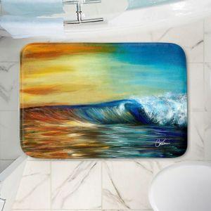 Decorative Bathroom Mats   Corina Bakke - Maui Wave II