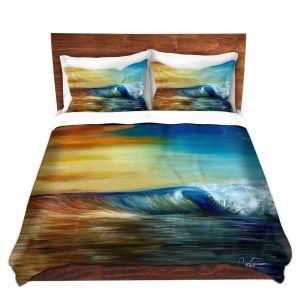 Artistic Duvet Covers and Shams Bedding   Corina Bakke - Maui Wave II