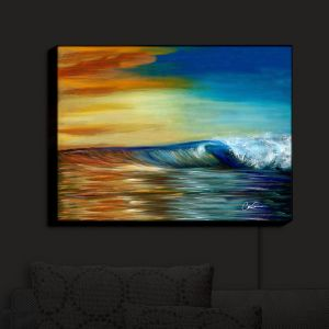 Nightlight Sconce Canvas Light | Corina Bakke's Maui Wave