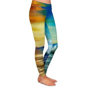 Casual Comfortable Leggings   Corina Bakke Maui Wave II
