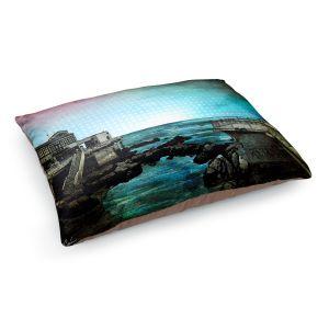 Decorative Dog Pet Beds | Corina Bakke - Monterey Bay | landscape digital coast water