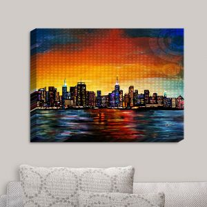 Decorative Canvas Wall Art | Corina Bakke - New York Skyline