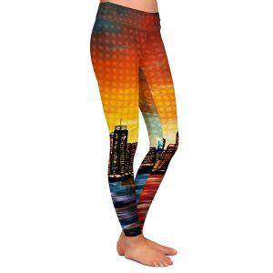 Casual Comfortable Leggings | Corina Bakke's New York Skyline