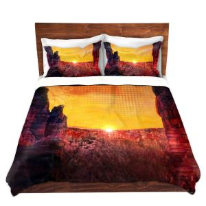 Artistic Duvet Covers and Shams Bedding   Corina Bakke - Sedona Arizona