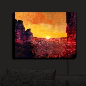 Nightlight Sconce Canvas Light | Corina Bakke's Sedona Arizona