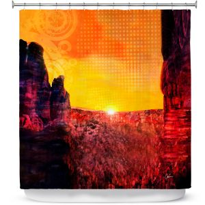 Premium Shower Curtains | Corina Bakke Sedona Arizona