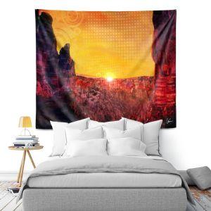 Artistic Wall Tapestry | Corina Bakke Sedona Arizona