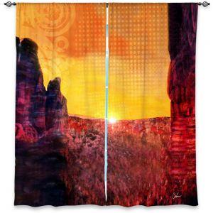 Decorative Window Treatments | Corina Bakke Sedona Arizona