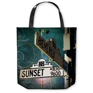 Unique Shoulder Bag Tote Bags   Corina Bakke Sunset Blvd