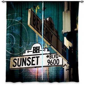Decorative Window Treatments | Corina Bakke Sunset Blvd
