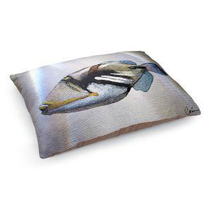 Decorative Dog Pet Beds | Corina Bakke - Trigger Fish White