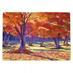Countertop Place Mats | David Lloyd Glover - Autumn Leaves | forest park tree