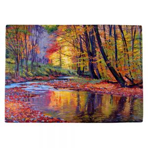 Countertop Place Mats | David Lloyd Glover's Autumn Prelude