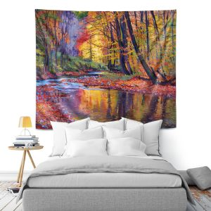 Artistic Wall Tapestry   David Lloyd Glover Autumn Prelude