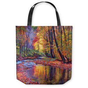 Unique Shoulder Bag Tote Bags | David Lloyd Glover Autumn Prelude