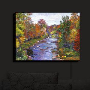 Nightlight Sconce Canvas Light   David Lloyd Glover - Autumn River