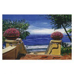 Decorative Floor Covering Mats | David Lloyd Glover - Blue Pacific Ocean | coast ocean beach patio