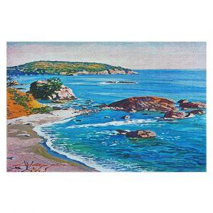 Decorative Floor Covering Mats | David Lloyd Glover - California Coast | coast landscape ocean island