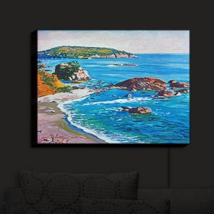 Nightlight Sconce Canvas Light | David Lloyd Glover - California Coast