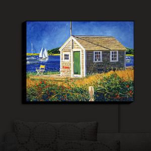 Nightlight Sconce Canvas Light | David Lloyd Glover - Cape Cod Boat House